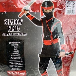 Shadow ninja costume size xl
